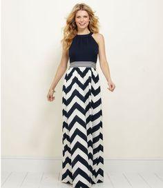 Vineyard Vines Chevron Maxi Dress.