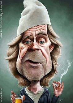 Frank Gallagher caricature by sole00 on DeviantArt