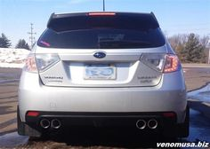 Subaru WRX with Borla Exhaust by Venom Motorsports in Grand Rapids MI . Click to view more photos and mod info.