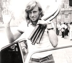 "Bjorn Borg - via Sharpformen.com ""Known for his storied rivalry with the mercurial John McEnroe, Borg was also the sport's first sex symbol. He would adjust his iconic headband in a ritualistic fashion before each match. Had Borg been mediocre, his fussiness would have been criticized. Instead he became a mainstay in fashion spreads."""