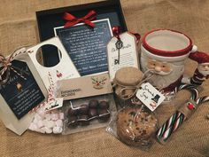 Rustic/Vintage Children's Christmas Eve Box a by TheVowSheffield