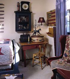 Americana Bedroom