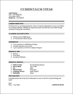 Format for Curriculum Vitae. 25 format for Curriculum Vitae. An Example Of Curriculum Vitae Salodfinedtraveler Resume Pdf, Job Resume Format, Sample Resume Format, Basic Resume, Simple Resume, Resume Template Free, Templates Free, Flash Templates, Resume Work