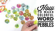 It's another Let's Play video! This time I'm making colorful glass word pebbles using a stencil and some colorful gelli prints®. Check out this week's link p...