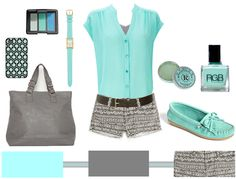 mint and gray!