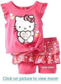 Hello Kitty Baby-Girls Newborn Short Set #Hello #Kitty #Baby_Girls #Newborn #Short #Set
