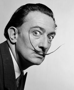 Surrealist painter & long-term #PhilippeHalsman collaborator, #SalvadorDali © #PhilippeHalsman