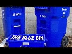 What NOT to Put in the Blue Bin - YouTube