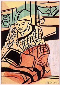 Fernand Leger   Reading (1948)