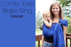 Places to Use a Water Sling [+ Comfy Joey Water Sling Review & Giveaway]