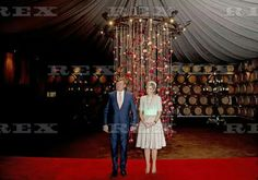 Dutch Royals meet the Dutch community, Sandalford Winery, Perth - 31 Oct 2016 King Willem-Alexander and Queen Maxima of The Netherlands 31 Oct 2016
