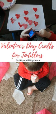 Valentine's Day crafts for toddlers!