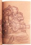 Justin Gerard - Book - Justin Gerard Sketchbook 2012 - Nucleus   Art Gallery and Store