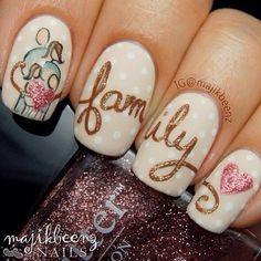 nail art - family