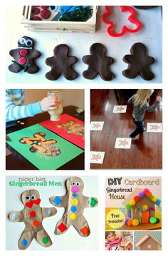 lots of Christmas crafts for kids - need to do some of these during the too-cold-to-go-out days
