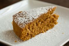 I created this delicious pumpkin maple sourdough cake by replacing part of the flour and liquid in a simple pumpkin cake with sourdough starter. Sourdough Cake Recipe, Sourdough Recipes, Sourdough Bread, Pumpkin Recipes, Cake Recipes, Dessert Recipes, Apple Recipes, Food Cakes, Cupcake Cakes