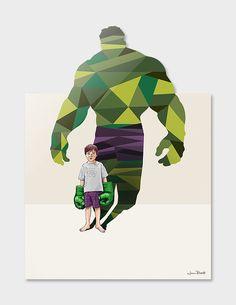 American artist Jason Ratliff (previously featured here) explores children