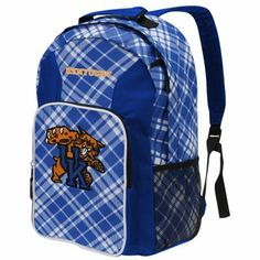 Kentucky Wildcats Plaid Southpaw Backpack - Royal Blue--Brooke would like this