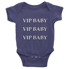 VIP BABY Infant short sleeve one-piece (WHITE)