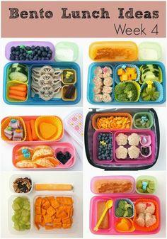 Bento Lunch Ideas: Week 4