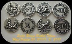 Set of 4 Most Popular Erotic Roman Brothel by GoldenArtifacts