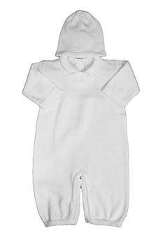 Boy's White Cotton Knit Christening Baptism Longall w/ Wh... https://www.amazon.com/dp/B01LZH934D/ref=cm_sw_r_pi_dp_x_N3VEyb1MZZQK8