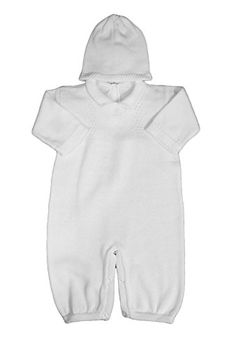 Boy's White Cotton Knit Christening Baptism Longall w/ Wh... https://www.amazon.com/dp/B01LZH934D/ref=cm_sw_r_pi_dp_x_N3VEyb1MZZQK8