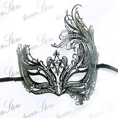Hey, I found this really awesome Etsy listing at https://www.etsy.com/listing/190293119/masquerade-mask-black-venetian