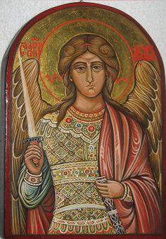 Archangel Michael Byzantine #icône