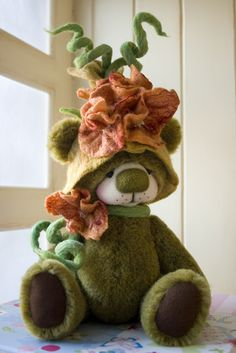 Maisy by Bear Treasures. I love this little fellow.