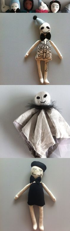 Cute Halloween dolls