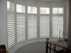 Shutter gallery | Examples of Bay Window interior window shutters
