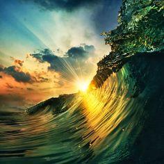@TropicaISunsets  30 Oct 2015 Ocean Waves Sunset