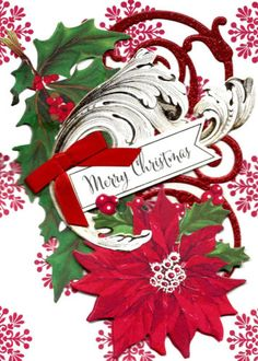 HAVE-YOURSELF-A-MERRY-LTTLE-CHRISTMAS-3D-Card-Signed-by-Artist-FREE-S-H-1174