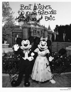 who to send your wedding invite to that may not have made your guest list. mickey & minnie, the president & first lady and, of course, the queen!