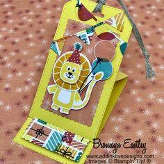 Birthday Bonanza Easel Cards and Easel Tag – Mini Tutorial Bundle - #electroniccards - Birthday Bonanza Easel Cards and Easel Tag – Mini Tutorial Bundle...