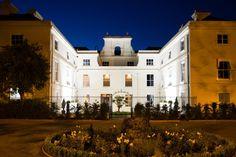 Morden Hall wedding venue at night