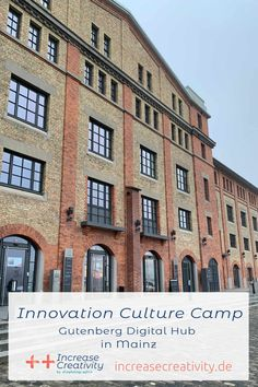 Innovation Culture Camp in Mainz - Increase Creativity Life Hacks Deutsch, Innovation, Sketch Note, 29 Days, Blogging, Creativity, Challenges, Camping, Culture