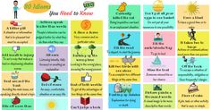 Idioms are words, phrases or expressions which are commonly used in everyday conversation.