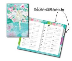 Paper Lined Digital Planner For Goodnote Appmermaid Calendar Jotting Paper .