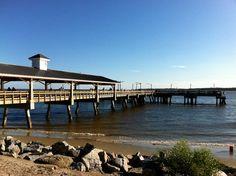 October 2013: St. Simons Island pier.