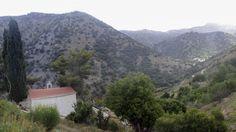 Tiny church in the mountains on the way from Lasithi Plateau to Agios Nikolaos, Crete