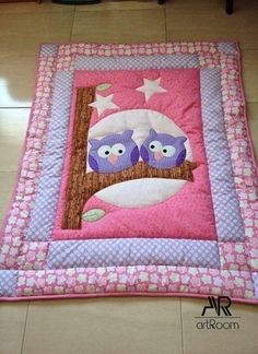 Super Baby Girl Quilts Owl 38 Ideas The Effective Pictures We Offer You About patchwork quilting bags A quality picture can tell you many things. You can find the most beautiful pictures that can be p Owl Baby Quilts, Patchwork Baby, Girls Quilts, Baby Owls, Patchwork Quilting, Quilts For Babies, Quilt Baby, Quilting Projects, Quilting Designs