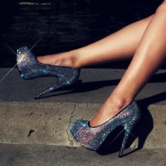 If Cinderella were born into this century, these would be her slippers!