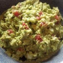Cilantro and cayenne give this classic guacamole a tasty kick. Serve it smooth or chunky. Guacamole Recipe, Cayenne Peppers, Avocado Salad, Clams, Chipotle, Coriander, Cilantro, Allrecipes, Mango