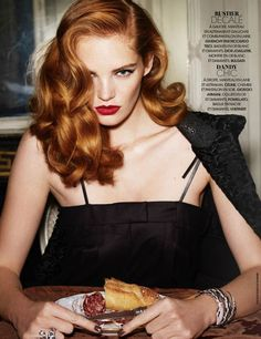 Alexina Graham by Marcus Pummer for Madame Figaro November 21st, 2014
