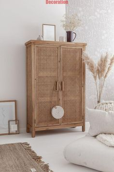 Armoire en cannage - Expolore the best and the special ideas about Modern home design Decoration Inspiration, Interior Inspiration, Decor Ideas, Home Interior, Interior Design, Interior Modern, Deco Boheme, Decoration Bedroom, Deco Design