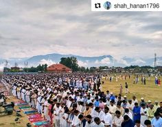 """Congregational Eid prayers at Eidgah Srinagar... Photo @shah_hanan1796 ° ° ° ° #worldtravelbook #worldtraveler #worldtrip #ig_travel #ig_sunset #wonderlust #travel #travelph #travelblogger #asia #travelphotography #travels #traveler #travelaroundtheworld #travelogue #travelgram #iamatraveler #traveldiaries #traveladdict #travelasia #cityscape #citylights #art #artlover #theglobewanderer #lovetravel #exploring #travellust"" by @kashyouthclub. #fslc #followshoutoutlikecomment #TagsForLikesFSLC…"