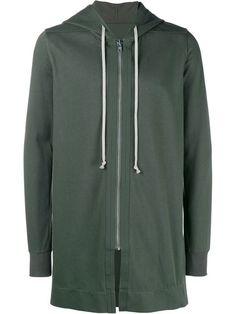 RICK OWENS Hooded Sweatshirt. #rickowens #cloth #sweatshirt