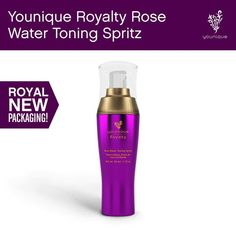 Royalty Rose Water Toning Spritz: You'll absolutely love the skin you're in after just a spray or two of this floral, invigorating toner. Created with rose extract, vitamins, and antioxidants, Rose Water Toning Spritz will leave your skin feeling fresh, calmed, and soothed.